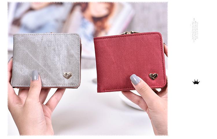 HTB1leCGRXXXXXcIXFXXq6xXFXXXZ - New Woman Wallet Small Hasp Coin Purse For Women Luxury Leather Female Wallets Design Brand Mini Lady Purses Clutch Card Holder