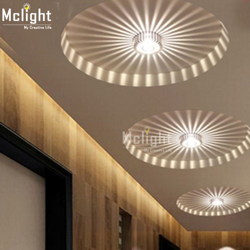 Wall mount light mini small led ceiling light for art for Balcony ceiling design