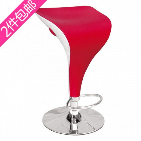 Rushed two drill crazy promotion new fashion bar chair chairs stool red and white PVC Swan<br><br>Aliexpress