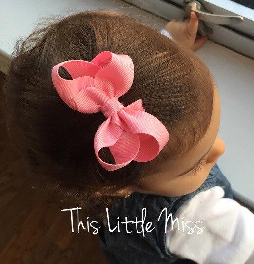 12 цвета милый ребенок с бантом зажим для волос прекрасные дети бантом аксессуары ...