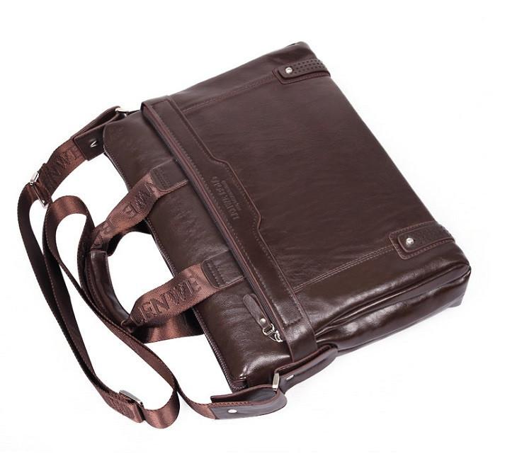 FASHION TENDER 2014 Free Shipping Leather Handbag Men Travel Messenger