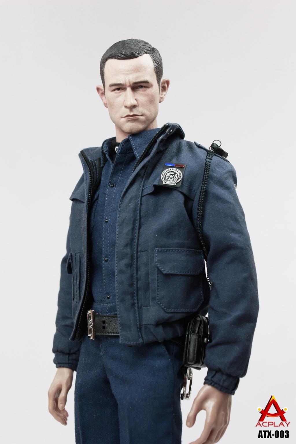 ACPLAY ATX003 1:6 Batman Gotham City Police Officer Robin Clothes Set for Action Figure DIY(China (Mainland))