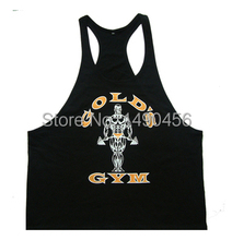 Superman Gym Singlets Mens Tank Tops Shirt Bodybuilding Equipment Fitness Men s Golds Gym Stringer Tank