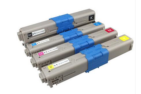 HOT!! Color laser toner cartridge ceramic toner For OKI 44469803 44469805 44469806 C 310 330 510 530 (3.5k/2k pages)(China (Mainland))
