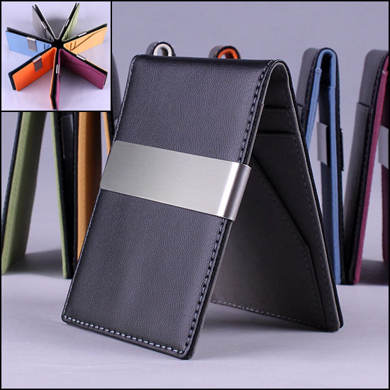 HOT SELLING Fashion 7 Colors Money Clips Men Wallets,Wallet Women Retail and Wholesale(WP189)(China (Mainland))