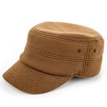 Sedancasesa جديد الموضة الرجال الخريف الشتاء قبعة أقنعة دافئة القطن القبعات للرجال أسود بسيط قبعة الرجال الذكور قبعة أنيقة على الموضة قبعات(China)