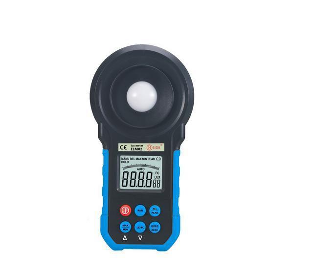 F11707 BSIDE elm02  LUX FC Light Meter Peak Measurement Unit Conversion Digital Light Meter Professional Light Lux Meter(China (Mainland))