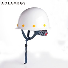 Safety Helmet Construction Head Protection Hard Hat Work Caps Industrial Engineering Shockproof FRP(Fiber Reinforced Plastics) (China (Mainland))