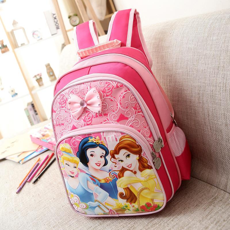 Children School Bags sets Cute Cartoon Backpack School Bags For Girls Mochila Feminina Princess High Quality BD01<br><br>Aliexpress