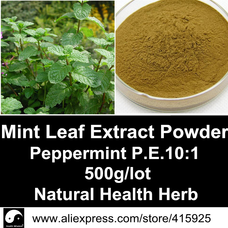 Peppermint Extract Powder 500g Natural Health Care Herbal Mint Leaf Menthol Dietary Supplements Spearmint