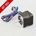 Top Selling Nema 17 Stepper Motor 45Ncm 64oz in 42x42x40mm Bipolar 1m Cable 3D Printer CNC