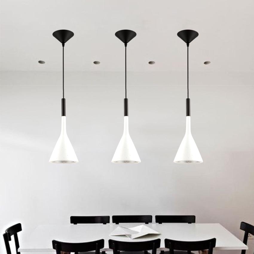 [DBF] Modern minimalist imitation concrete Decor Resin Replica LED pendant lamp for restaurant bar bedroom black  white  red (2)