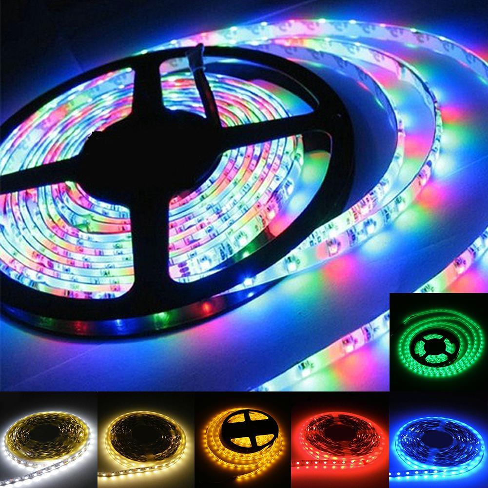 Sale+Promotion !!! 100cm Super Bright 12V 3528 SMD 60 Leds RGB Flexible Strip Home Decoration Light EB7070(China (Mainland))