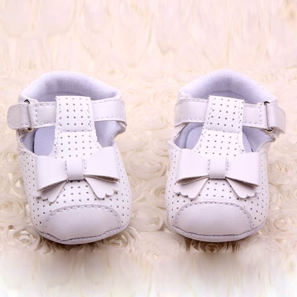 Sweet Baby PU Leather Shoes Infant Girl Anti-slip Bowknot Walking Crib - Always Fashion Shop store