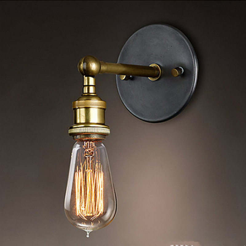 lampen vintage industrial lighting stair Loft lampshade Restaurant Bar office american wall lamp home decoration luminaire