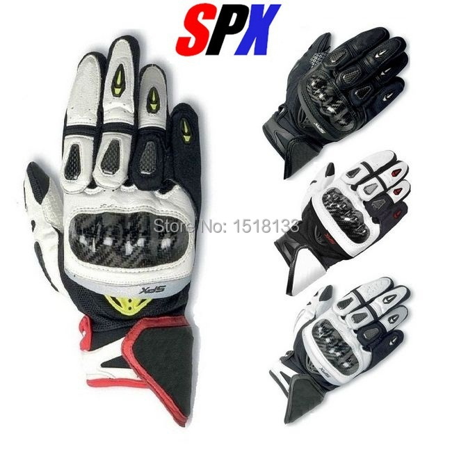 2014 Free shipping Brand New Original Genuine Leather Gloves SPX Gloves Motorcylce Gloves Driving Racing Cowhide Gloves(China (Mainland))