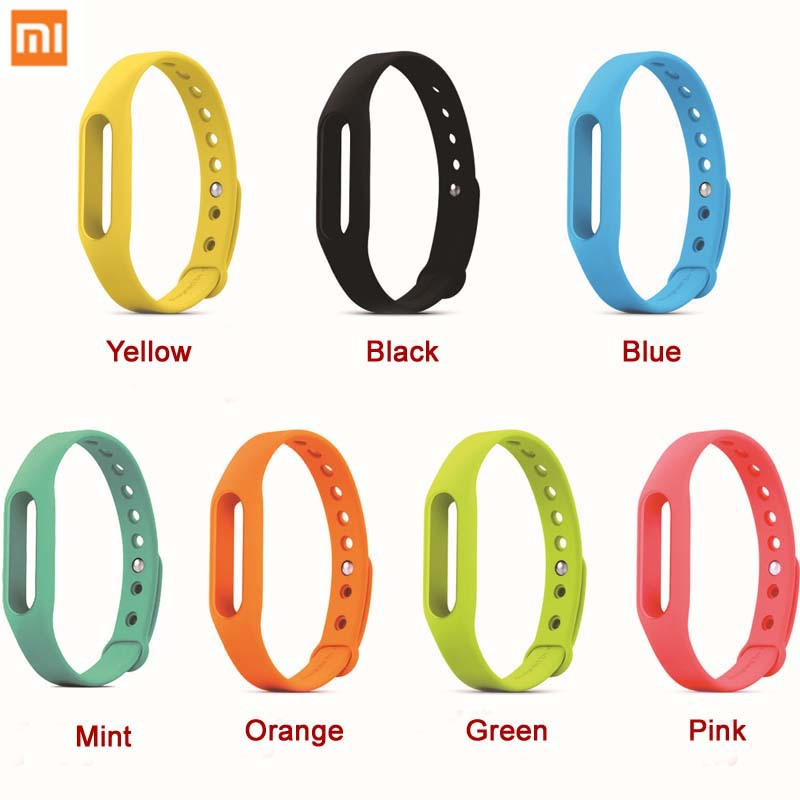 Xiaomi Mi Band Strap Wristband Silicon Miband Strap for MI4 M3 MIUI Smart Fitness Wearable Devices Replaceable Wrist Strap(China (Mainland))