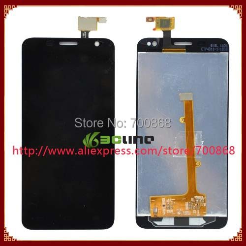 For Alcatel One Touch Idol Mini 6012 OT6012 OT6012D LCD Display With Touch Screen Digitizer Assembly Free shipping(China (Mainland))