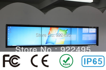Free shipping 32 Inch IR touch screen overlay kit for advertising and shop window, 2 touch points, FAST SHIPPING