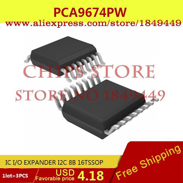 Бесплатная Доставка Diy Электронные PCA9674PW, 112 IC I/O EXPANDER I2C 8B 16 TSSOP PCA9674PW 9674 PCA9674 3 ШТ. браслет power balance бкм 9674