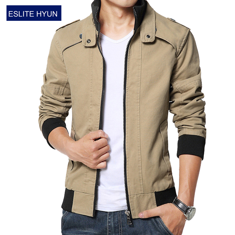 2016 new fashion autumn male casual jacket solid fall mens jackets and coats men's jacket plus size 3XL 4XL 5XL(China (Mainland))