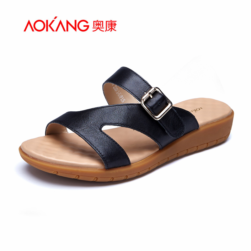 Aokang 2016 New Summer Style Fashion Women Sexy Platform sandals Women shoes Gladiator high heels Shoes sandalias plataforma<br><br>Aliexpress
