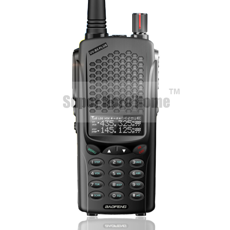New Arrival Baofeng UV-B5 Plus Walkie Talkie 5-10W Power Portable Ham Two Way Radio VHF UHF UV Dual Band UVB5 Transceiver(China (Mainland))