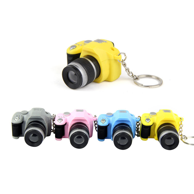 Cute Baby Study Toy for Kids Projection PVC Camera juguetes Educational Toys for Children Bag accessories keychain(China (Mainland))