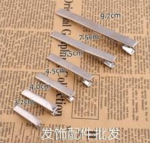 6PCS/SET elastic band bracelet hair accessories women headband clips gum weave baffle braided bow bandana ornaments A64
