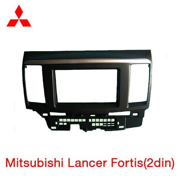 Car refitting DVD frame,DVD panel,Dash Kit,Fascia,Radio Frame,Audio frame Mitsubishi Fortis Lancer,2DIN #FD-2736