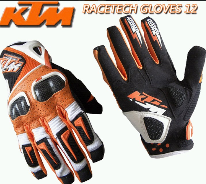 ktm off-road gloves/motorcycle leather gloves/racing cross-country gloves/riding cycling gloves windprood