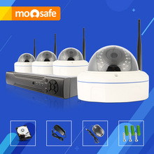 Mosafe 4CH HD 1920 1080P Fixed Lens Indoor Email font b Alarm b font Infrared LED