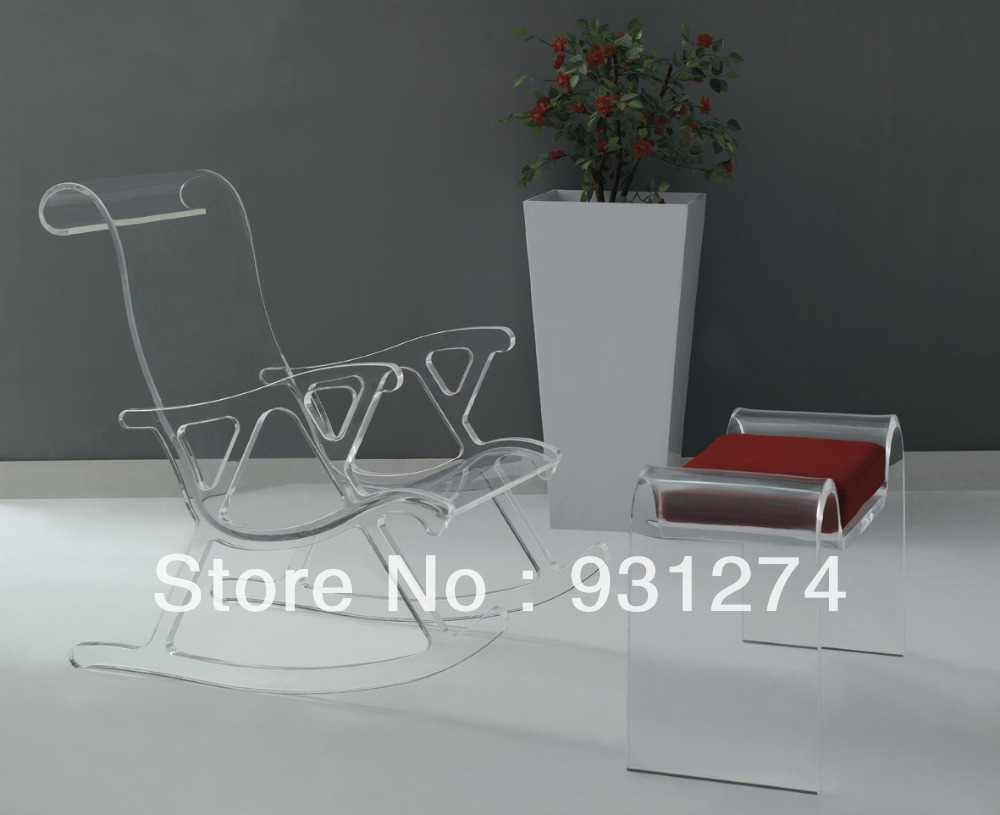 Buy Acrylic Bench Lucite Vanity Chair