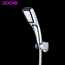 Bathroom Faucet 30% Water Saving 300% Pressure Boost Powerful Chuveiro 300 Holes Quality ABS Electroplate High Power Shower Head(China (Mainland))