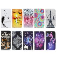 Buy Coque LG K7 X210 X210DS K 7 Cases Wallet Cover Soft Shell Phone Case Capinha Etui Fundas Color Dreaming Butterfly Feather for $3.40 in AliExpress store