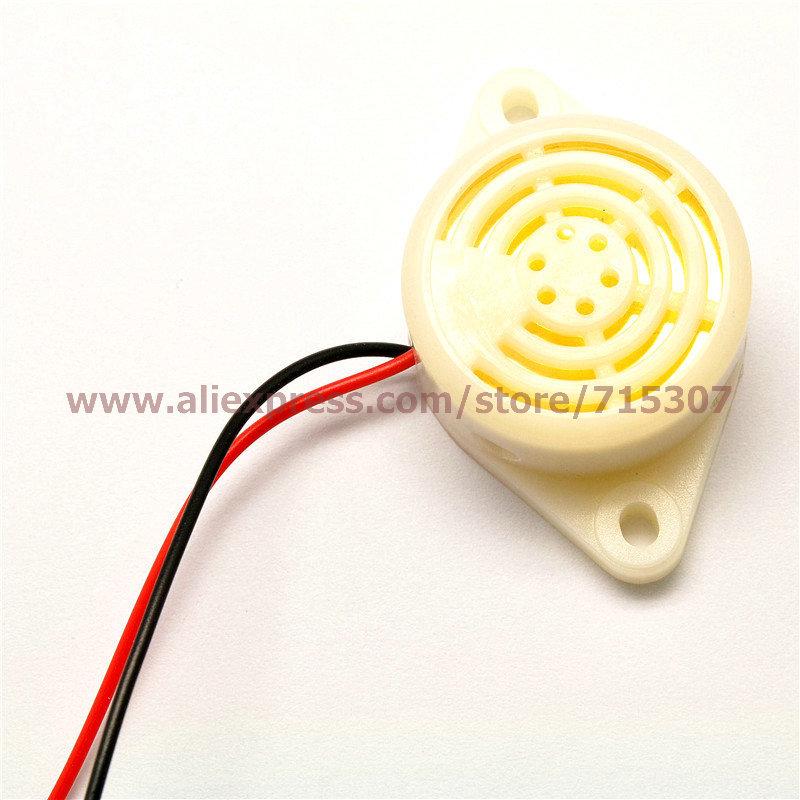 5pcs High Decibels Alarm/ continuous sound/ burglar buzzer DC6-24V free shipping(China (Mainland))