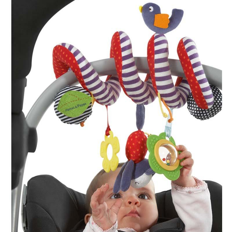 Mamamiya & Papas baby toys Spiral Activity Stroller Car Seat Cot Babyplay Travel Toys Baby Products christmas gift hottoys(China (Mainland))