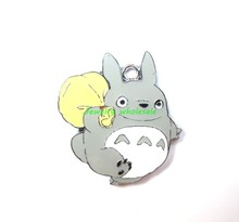 free shipping Wholesale new 50Pcs neighbor totoro Metal Charms pendants DIY Jewellery Making crafts I-02(China (Mainland))