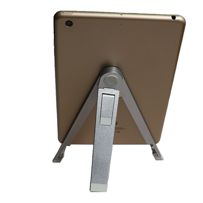 """7 8 9 10 inch tablet holder Aluminum alloy tripod tablet PC stand holder suitable for 9.7"""" ipad pro ipad Air 2 ipad mini 4(China (Mainland))"""