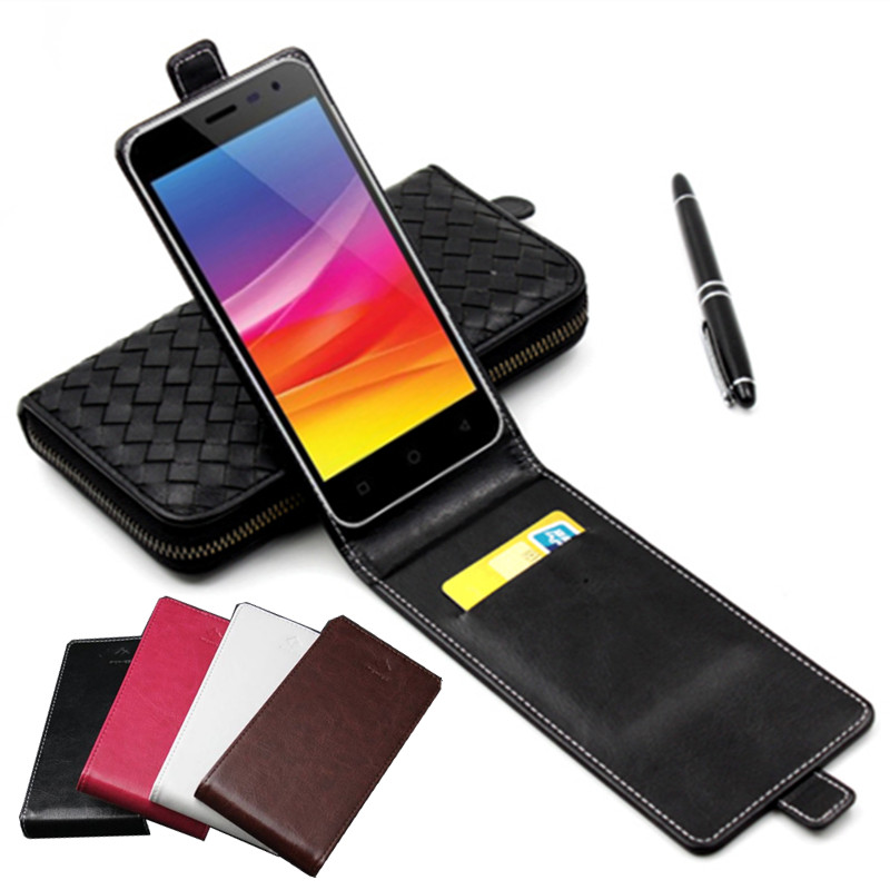 Classic Luxury Advanced Top Leather Flip Colorful Leather Case For Micromax Canvas Pace 4G Q415 Phone Cases Cover With Card Slot(China (Mainland))