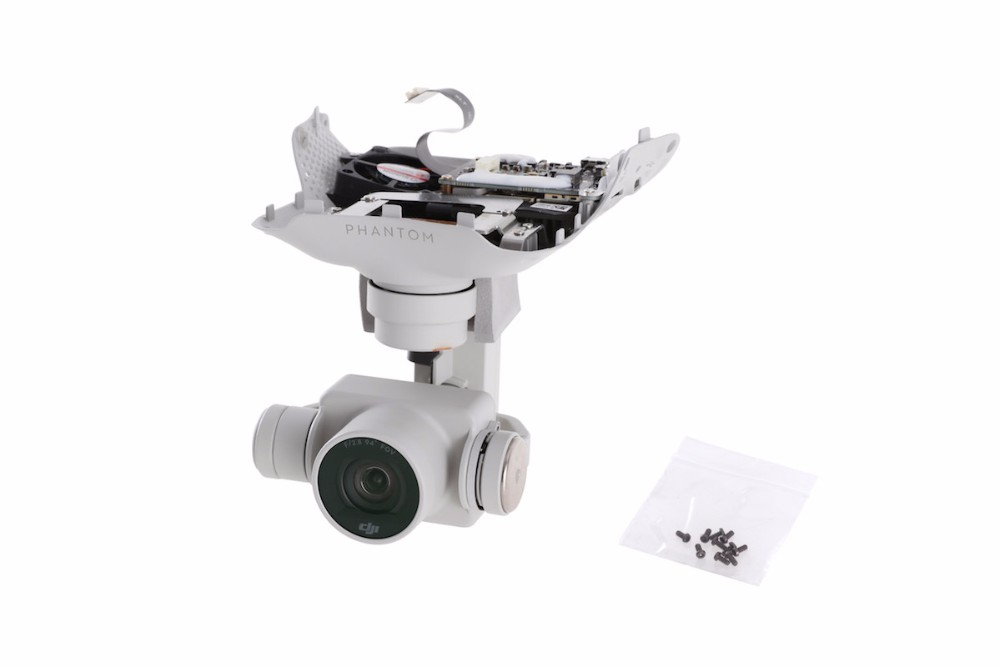 Original DJI Phantom 4 — Gimbal Camera with advanced 3-axis gimbal takes out unwanted vibration and movement in-flight