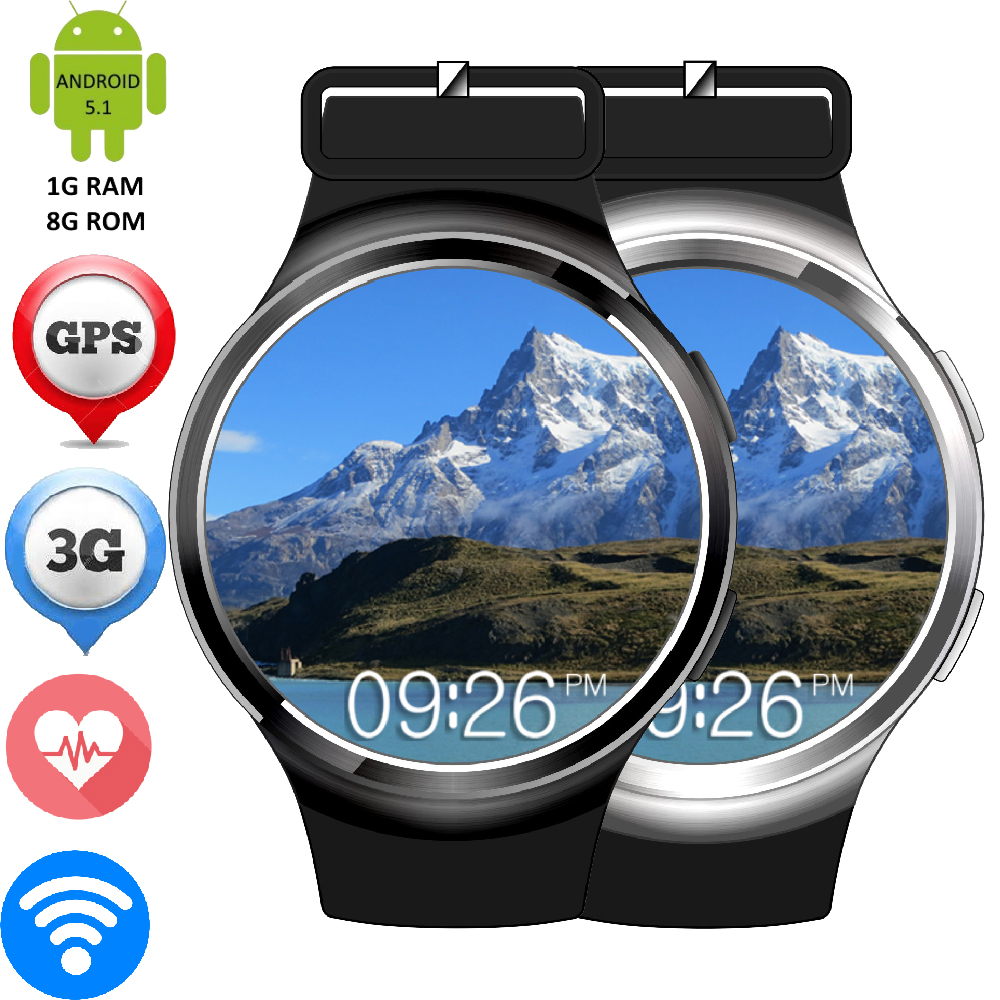 Finow X3 Plus Android 5.1 OS Smart Watch Heart Rate Monitor GSM/WCDMA SIM Card GPS APGS Quad-Core Smartwatch WIFI MP3 MP4 Clock(China (Mainland))