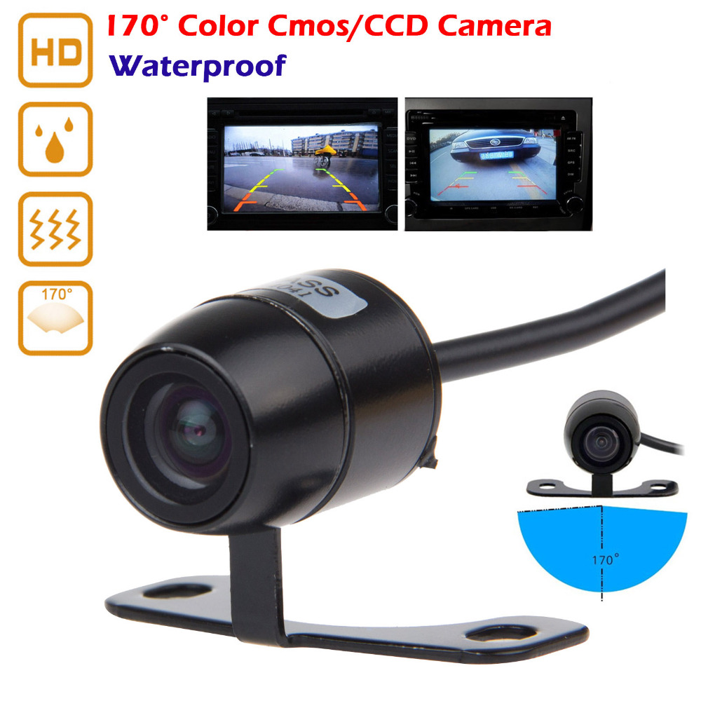 Waterproof HD Car Rear View Camera For BMW VW Audi Ford 170 Degree Viewing Angle Parking Monitor Camera Reverse Rearview Camera(China (Mainland))