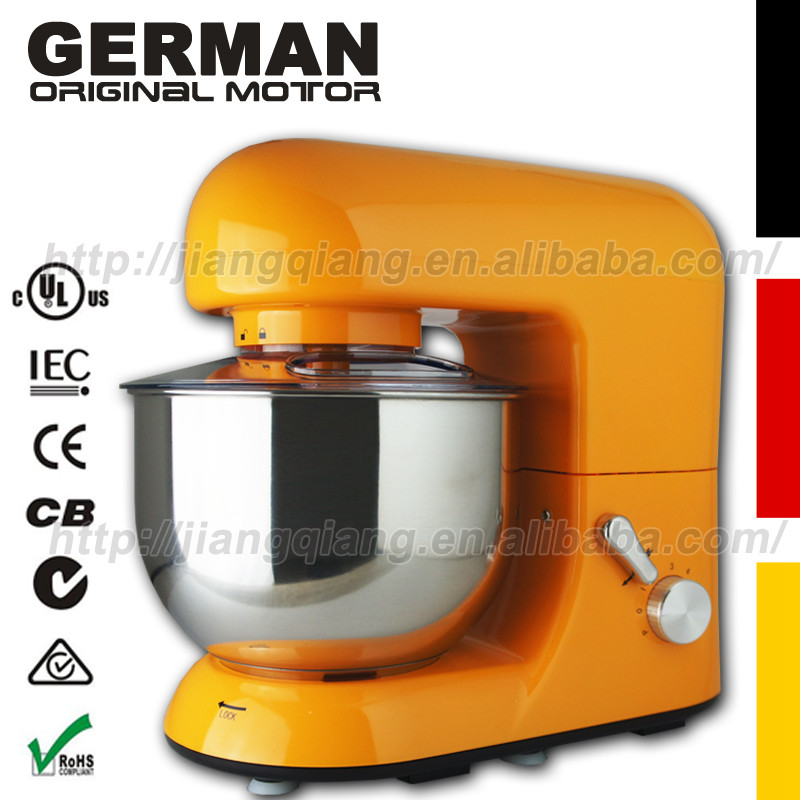 Гаджет  Kitchen G800O , 6 Speed 1000w All-Metal food Stand Mixer machine , Orange None Бытовая техника