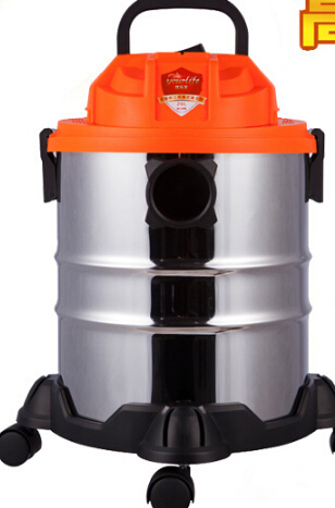 Ultra-quiet vacuum cleaner household wet and dry strength barrel hotels mini mites no supplies(China (Mainland))