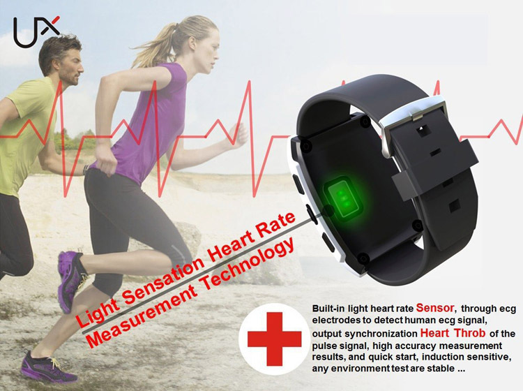 NEW Android phone heart rate monitor innovative endurance smart fitness device chest strap-free bluetooth HRM BTLE 4.0 tracker