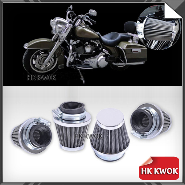 4pcs x 39mm Motorcycle Motorbike ATV Dirt Quad Bike Air Filter Cleaner Sport Filter Pitbike Scooter Cone Clamp-on Free Shipping<br><br>Aliexpress