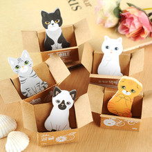 Fashion Kawaii Funny Dogs Cats Stickers Home Decor Cute Table Desktop Decoration Decorative Poster Note Paper Lovely Japan Style