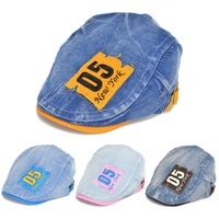 vogue visor cap for children boy and girl peaked cap casquette,good quality chic beret cap gorro