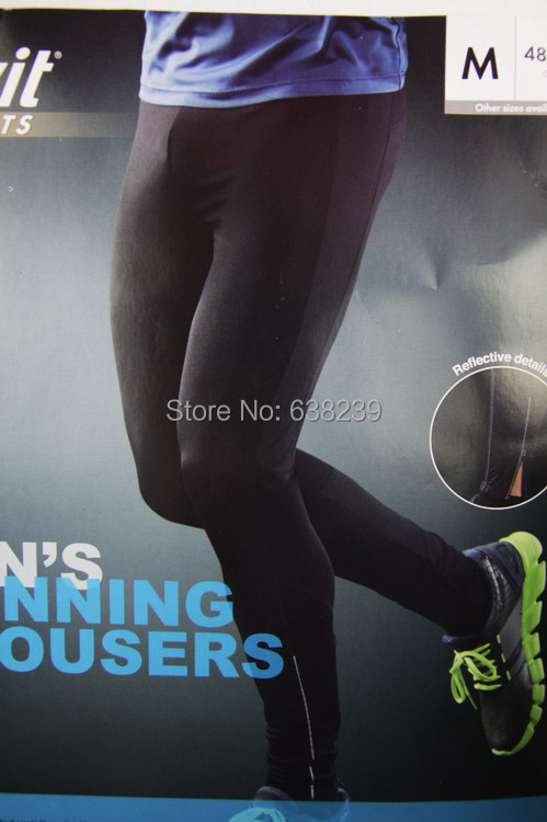 Men Sports Pants Outdoor Running Tights Skinny Jogging Trousers Big Size Exercising Fitness Training Sportswear Quick Dry Pant - Guangzhou New Empire Trading Co., LTD store